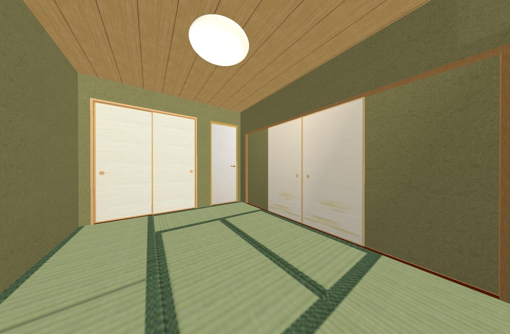 """あえて残した和室はより""""和""""な空間に仕上げました。"""