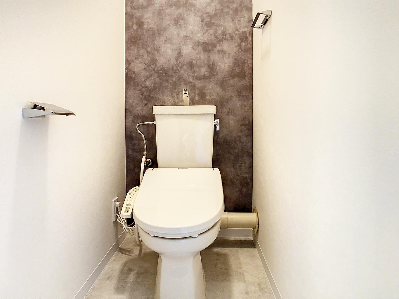 スタイリッシュモダンなトイレ